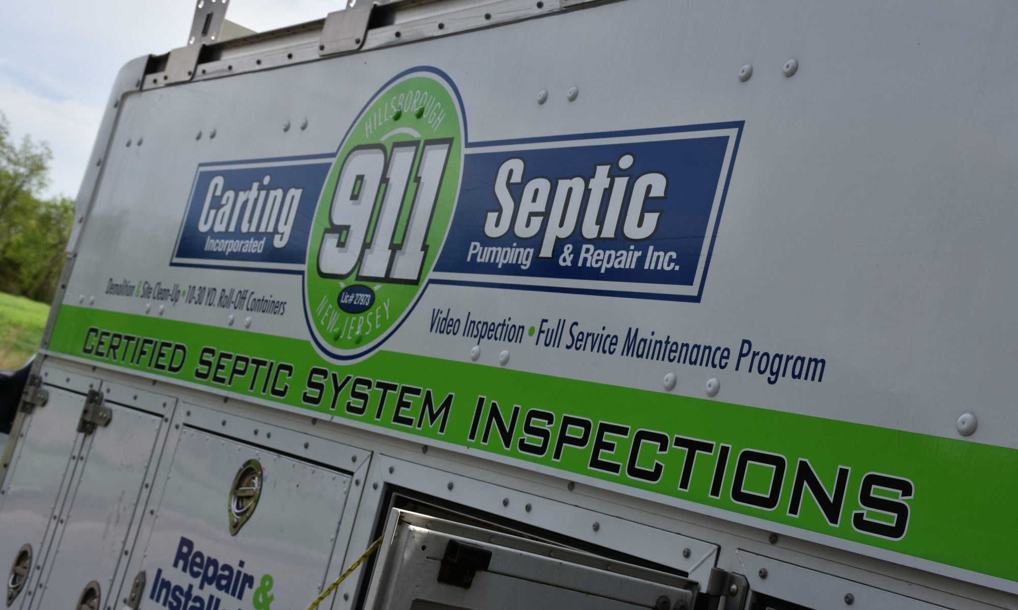 911 Septic Pumping & Carting